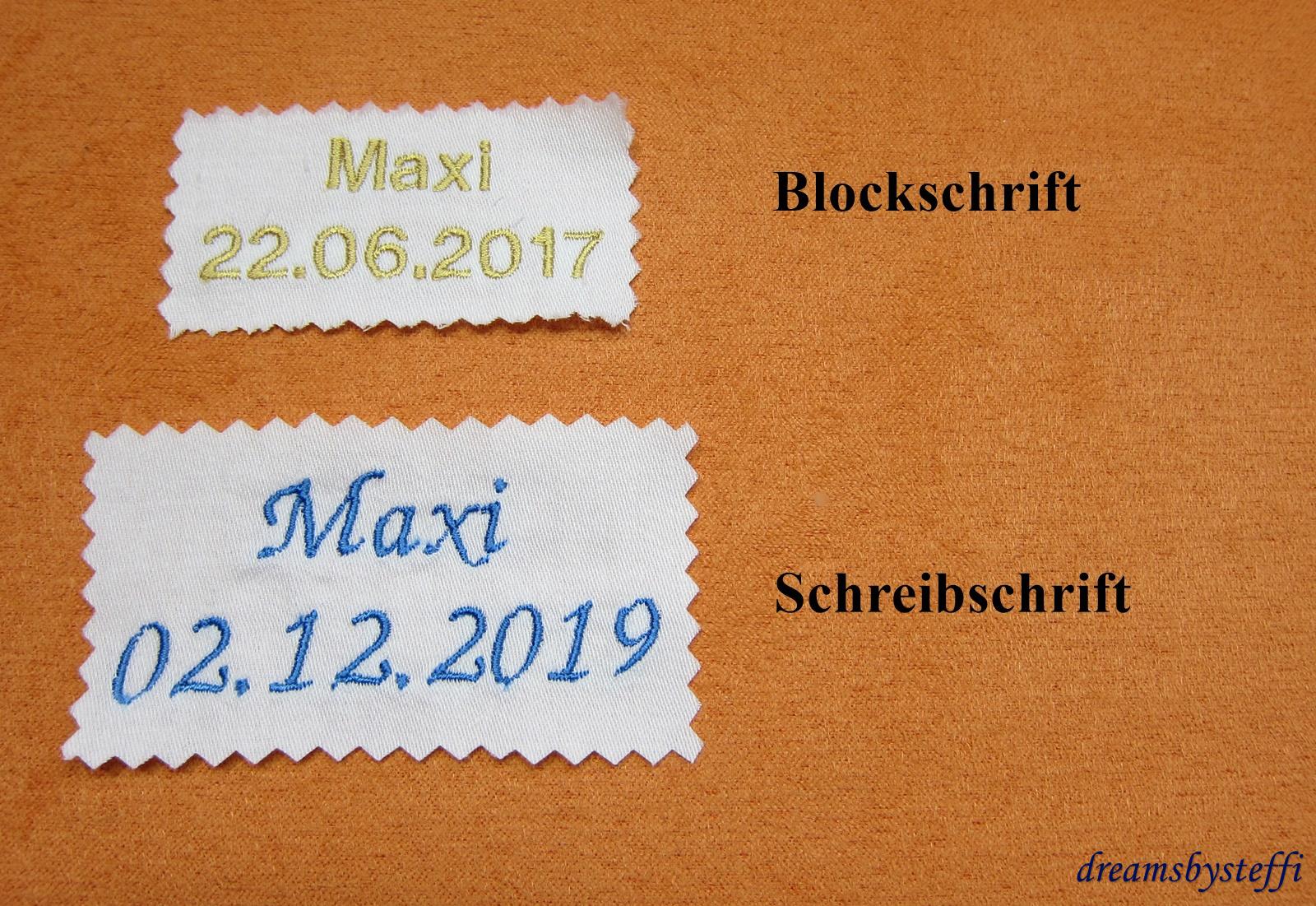 Tuch Kommunion Taufe Spitze Stickerei Motiv Name Datum